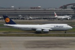肉食獣さんが、羽田空港で撮影したルフトハンザドイツ航空 747-830の航空フォト(写真)