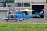 Chofu Spotter Ariaさんが、東京ヘリポートで撮影した岡山県警察 A109E Powerの航空フォト(飛行機 写真・画像)
