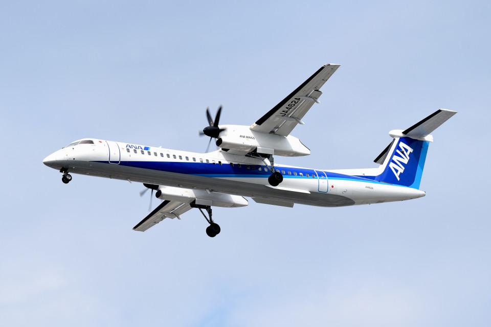 tsubasa0624さんのANAウイングス Bombardier DHC-8-400 (JA462A) 航空フォト