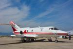 パンダさんが、米子空港で撮影した航空自衛隊 U-125 (BAe-125-800FI)の航空フォト(飛行機 写真・画像)