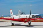 パンダさんが、米子空港で撮影した航空自衛隊 T-7の航空フォト(飛行機 写真・画像)