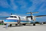 パンダさんが、米子空港で撮影した海上保安庁 DHC-8-315Q Dash 8の航空フォト(飛行機 写真・画像)