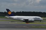 kumagorouさんが、成田国際空港で撮影したルフトハンザドイツ航空 A380-841の航空フォト(飛行機 写真・画像)