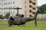 りんたろうさんが、武山駐屯地で撮影した陸上自衛隊 UH-1Jの航空フォト(写真)
