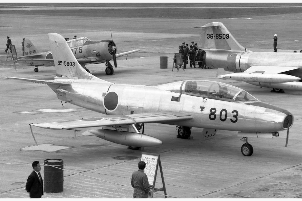 apphgさんの航空自衛隊 Fuji T-1 (95-5803) 航空フォト