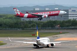 tsubasa0624さんが、新千歳空港で撮影したエアアジア・エックス A330-343Xの航空フォト(写真)