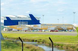 quicksilverさんが、トゥールーズ・ブラニャック空港で撮影したスカイマーク A380-841の航空フォト(飛行機 写真・画像)