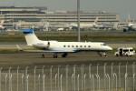 tsubasa0624さんが、羽田空港で撮影したガルフストリーム・エアロスペース G-V-SP Gulfstream G550の航空フォト(写真)
