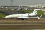tsubasa0624さんが、羽田空港で撮影したアメリカン・エクスプレス・バンク G-V-SP Gulfstream G550の航空フォト(飛行機 写真・画像)