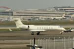 tsubasa0624さんが、羽田空港で撮影したウェルズ・ファーゴ・バンク・ノースウェスト G-V-SP Gulfstream G550の航空フォト(写真)