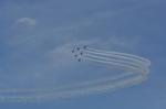 kumagorouさんが、福島市上空で撮影した航空自衛隊 T-4の航空フォト(写真)