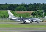 じーく。さんが、成田国際空港で撮影したマン島企業所有 737-7JW BBJの航空フォト(飛行機 写真・画像)