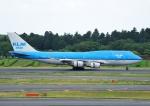 じーく。さんが、成田国際空港で撮影したKLMオランダ航空 747-406Mの航空フォト(飛行機 写真・画像)