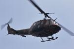 ティーガーさんが、北富士駐屯地で撮影した陸上自衛隊 UH-1Jの航空フォト(写真)