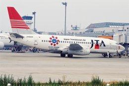M.Mさんが、松山空港で撮影した日本トランスオーシャン航空 737-205/Advの航空フォト(飛行機 写真・画像)