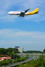 パンダさんが、成田国際空港で撮影したエアー・ホンコン 747-444(BCF)の航空フォト(写真)