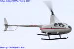 Chofu Spotter Ariaさんが、東京ヘリポートで撮影した日本個人所有 R44 Raven IIの航空フォト(飛行機 写真・画像)