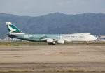 PGM200さんが、関西国際空港で撮影したキャセイパシフィック航空 747-867F/SCDの航空フォト(写真)