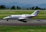 じーく。さんが、静岡空港で撮影した日本法人所有 525A Citation CJ2+の航空フォト(写真)