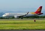 じーく。さんが、静岡空港で撮影した北京首都航空 A320-214の航空フォト(飛行機 写真・画像)