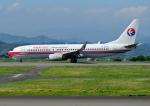 じーく。さんが、静岡空港で撮影した中国東方航空 737-89Pの航空フォト(写真)