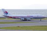 Scotchさんが、中部国際空港で撮影したマレーシア航空 747-4H6F/SCDの航空フォト(写真)