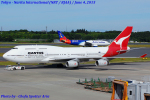 Chofu Spotter Ariaさんが、成田国際空港で撮影したカンタス航空 747-438の航空フォト(写真)