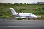 tsubasa0624さんが、羽田空港で撮影したオートパンサー 525A Citation CJ2の航空フォト(飛行機 写真・画像)