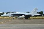 Flankerさんが、厚木飛行場で撮影したアメリカ海軍 F/A-18F Super Hornetの航空フォト(写真)