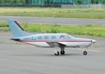 じーく。さんが、調布飛行場で撮影したベルハンドクラブ PA-46-350P Malibu Mirageの航空フォト(飛行機 写真・画像)