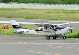 じーく。さんが、調布飛行場で撮影した日本エアロスペース T206H Turbo Stationairの航空フォト(飛行機 写真・画像)