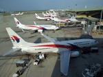 クアラルンプール国際空港 - Kuala Lumpur Internatonal Airport [KUL/WMKK]で撮影されたマレーシア航空 - Malaysia Airlines [MH/MAS]の航空機写真