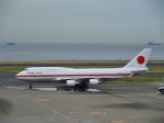 うめやしきさんが、羽田空港で撮影した航空自衛隊 747-47Cの航空フォト(写真)