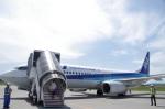 ガスパールさんが、紋別空港で撮影した全日空 737-881の航空フォト(写真)