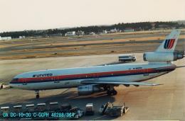 Sorakara_gonさんが、成田国際空港で撮影したユナイテッド航空 DC-10-30の航空フォト(飛行機 写真・画像)