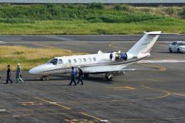 Gambardierさんが、岡南飛行場で撮影したオートパンサー 525A Citation CJ2の航空フォト(飛行機 写真・画像)