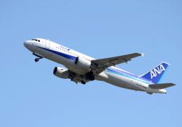 雲霧さんが、成田国際空港で撮影した全日空 A320-214の航空フォト(飛行機 写真・画像)