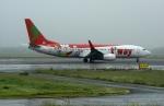 北の熊さんが、新千歳空港で撮影したティーウェイ航空 737-8Q8の航空フォト(飛行機 写真・画像)