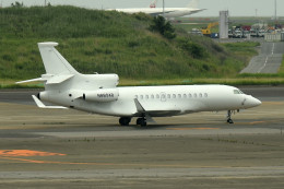 tsubasa0624さんが、羽田空港で撮影したユタ銀行 Falcon 7Xの航空フォト(写真)