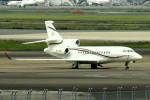 tsubasa0624さんが、羽田空港で撮影したマン島企業所有 Falcon 2000EXの航空フォト(写真)