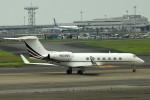 tsubasa0624さんが、羽田空港で撮影したNJI SALES INC G-V-SP Gulfstream G550の航空フォト(写真)