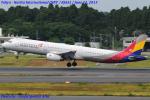 Chofu Spotter Ariaさんが、成田国際空港で撮影したアシアナ航空 A321-231の航空フォト(飛行機 写真・画像)