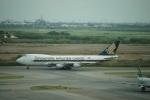 m-takagiさんが、スワンナプーム国際空港で撮影したシンガポール航空カーゴ 747-412F/SCDの航空フォト(写真)