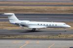 xingyeさんが、羽田空港で撮影したジョンソンコントロールズ G500/G550 (G-V)の航空フォト(写真)
