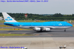 Chofu Spotter Ariaさんが、成田国際空港で撮影したKLMオランダ航空 747-406の航空フォト(飛行機 写真・画像)