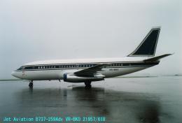 Sorakara_gonさんが、成田国際空港で撮影したジェット・エイビエーション 737-2S9/Advの航空フォト(飛行機 写真・画像)