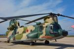 パンダさんが、米子空港で撮影した航空自衛隊 CH-47J/LRの航空フォト(写真)