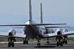 パンダさんが、米子空港で撮影した航空自衛隊 YS-11A-402Pの航空フォト(写真)