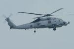 うめやしきさんが、厚木飛行場で撮影したアメリカ海軍 MH-60A (S-70A)の航空フォト(飛行機 写真・画像)