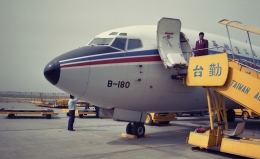 kamerajiijiさんが、台湾桃園国際空港で撮影したチャイナエアライン 737-209/Advの航空フォト(飛行機 写真・画像)